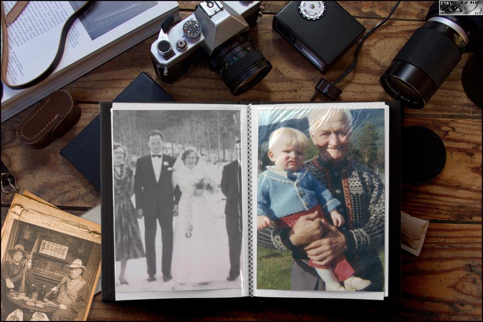 Familiealbum Haugen, Formo